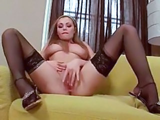 Big Tits Masturbating Stockings Teen