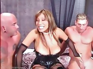 Big Tits Double Penetration Handjob Lingerie Mature Threesome