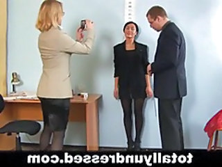 Casting Office Secretary Threesome