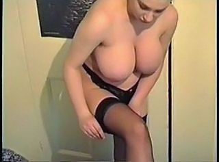 Big Tits British European MILF Panty Stockings