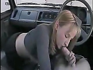 Amateur Blowjob Car Clothed Teen