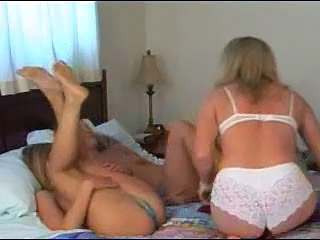 Daughter Family Lesbian MILF Mom Old and Young Sister