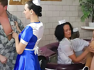 Babe Groupsex Nurse Orgy Uniform