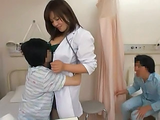 Asian Doctor Japanese MILF Nurse Uniform