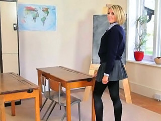 School Skirt Teacher