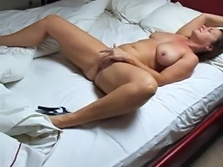 Masturbating Mature Wife