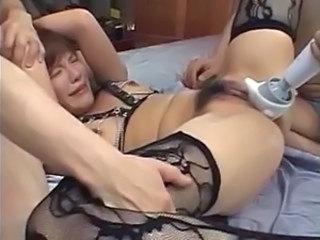 Asian Hairy Hardcore Stockings Toy
