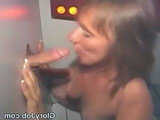 Blowjob Brunette Gloryhole Mature