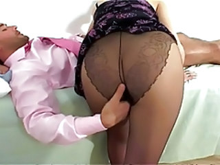 Ass Blowjob Pantyhose