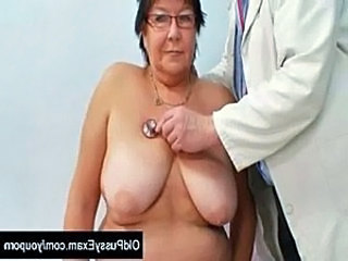 Big Tits Bus Doctor Glasses Mature