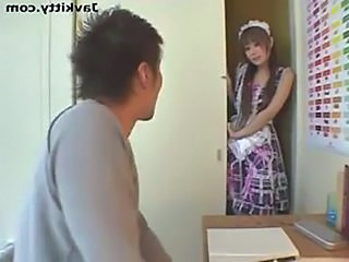 Asian Japanese Maid Teen