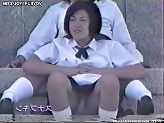 Asian Panty School Upskirt Voyeur