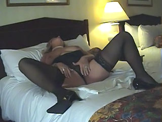 Amateur Homemade Mature Stockings Wife