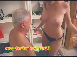Daddy Daughter Old and Young Piercing Panty