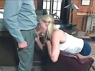 Blonde Blowjob Daddy Daughter Old and Young Pigtail School Teen