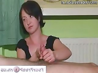 Handjob Small cock Young