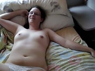 Amateur Chubby Girlfriend Glasses Homemade