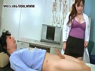 Asian Big Tits Doctor Japanese MILF Uniform