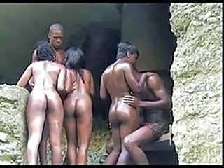 Ass Ebony Groupsex Outdoor