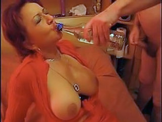 Drunk Mature MILF Natural Small cock