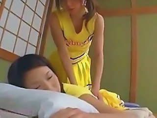 Asian Cheerleader Japanese Lesbian Teen Uniform