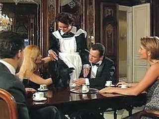 European Groupsex Italian Maid Orgy Uniform Vintage