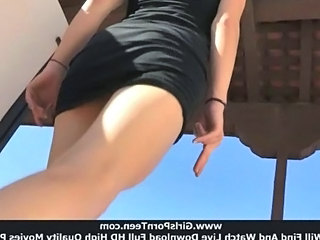 Ass Outdoor Teen Upskirt