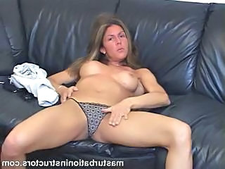 Amateur MILF Panty Solo Stripper