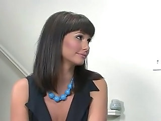 Babe Cute MILF Office