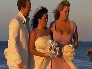 Beach Big Tits Bride MILF Outdoor