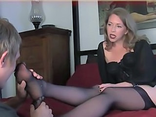 Feet Fetish Legs Mom Stockings