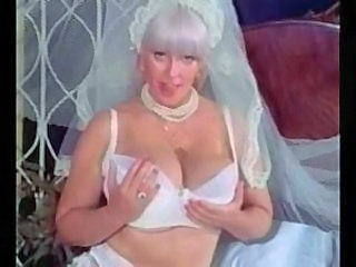 Big Tits Bride Lingerie MILF Natural Vintage