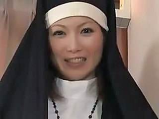 Asian MILF Nun Uniform