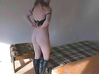 Amateur German Girlfriend Homemade Stripper