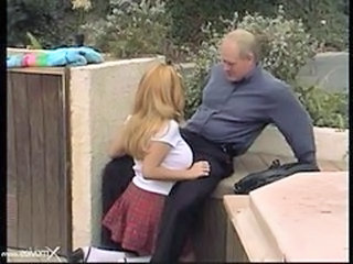 Daddy Old and Young Outdoor Skirt Student Teen