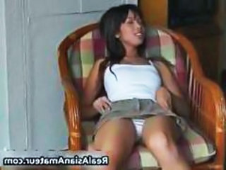 Amateur Asian Panty Upskirt