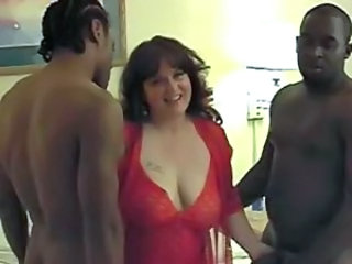 Amateur BBW Gangbang Interracial Lingerie MILF SaggyTits Wife