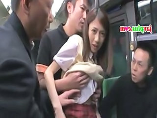 Asian Gangbang Public Skinny Student Teen Uniform
