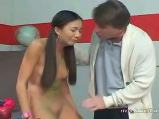 Old and Young Pigtail Teacher Teen