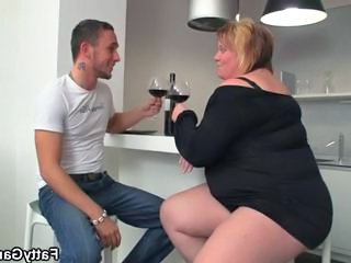 BBW Drunk MILF Mom Old and Young