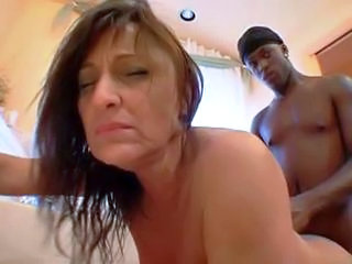 Doggystyle Interracial Mature Mom Old and Young