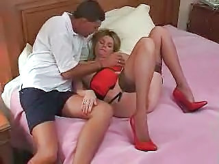 Amateur Cuckold Lingerie MILF Stockings Wife