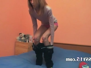 Skinny Stripper Teen Webcam
