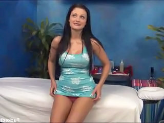 Babe Big Tits Bus Long hair Massage Teen