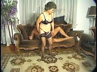 Granny Lingerie Stockings