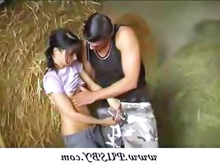 Cute Farm Teen
