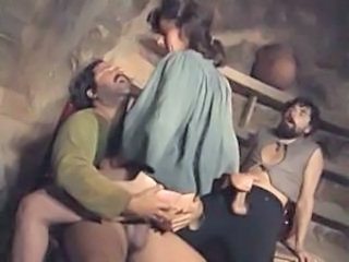 Clothed Riding Threesome Vintage