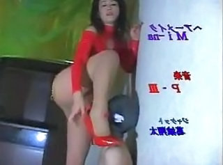 Asian Femdom Japanese Latex Licking