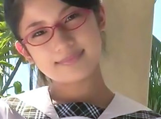 Asian Babe Cute Glasses Japanese Softcore Teen