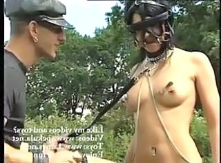 Bdsm Fetish Latex Outdoor